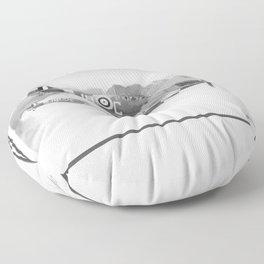 spitfires Floor Pillow