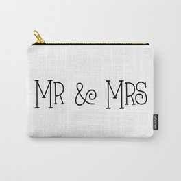 Mr &Mrs Carry-All Pouch