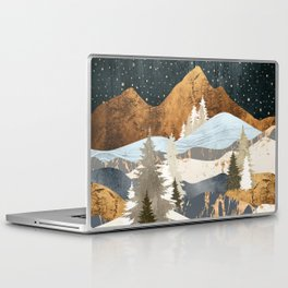 Winter Stars Laptop & iPad Skin