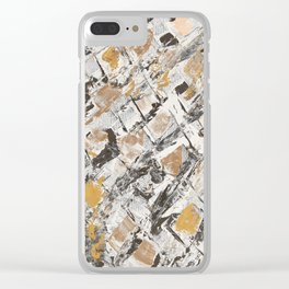 The golden windows Clear iPhone Case