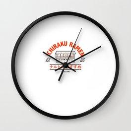 Ramen Art Print Wall Clock