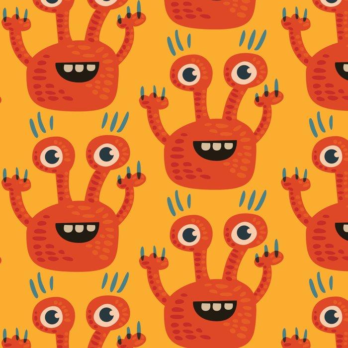 Funny Orange Happy Creature Leggings