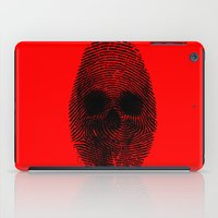 grand theft auto iPad Cases featuring Identity theft by Ismael Sandiego