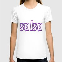 puerto rico T-shirts featuring Salsa Puerto Rico by Salsa Republic