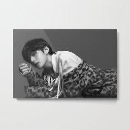 V / Kim Tae Hyung - BTS Metal Print