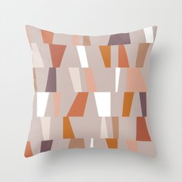 Neutral Geometric 03 Throw Pillow