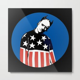 Keith Prodigy Blue and Black *All proceeds donated to charity* Metal Print