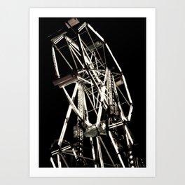 Double Wheel Art Print