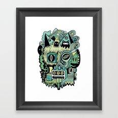 Double Je Framed Art Print
