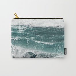 Electric blues Carry-All Pouch