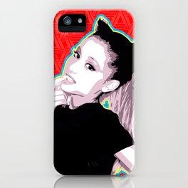 Ariana | Pop Art iPhone Case