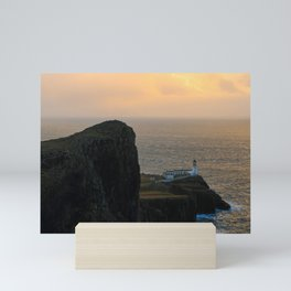 Neist Point Lighthouse, Isle of Skye Mini Art Print