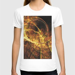 Fall Leaf Textures T-shirt