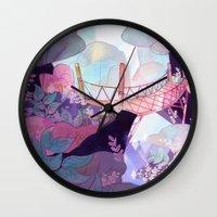 bridge Wall Clocks featuring Bridge by sarlisart