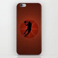 lakers iPhone & iPod Skins featuring SLAM DUNK - JORDAN by alexa