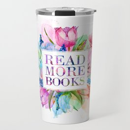 Read More Books Pastel Travel Mug