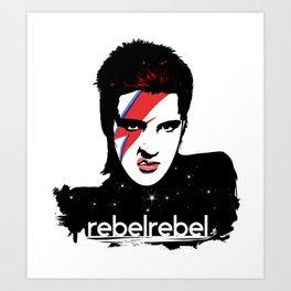 We Are All StarDust Rebel bag Art Print