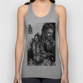 The Last Of Us Part II - Ellie and Joel Unisex Tank Top