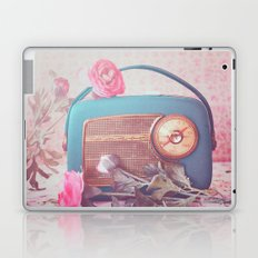 Vintage Radio. Laptop & iPad Skin