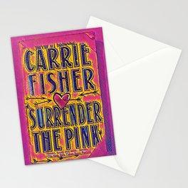 pink surrender Stationery Cards