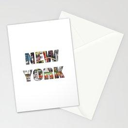 New York (typography) Stationery Cards