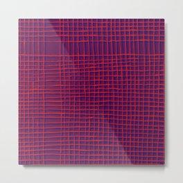 Left - purple Metal Print