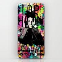 basquiat iPhone & iPod Skins featuring Basquiat  by Zoé Rikardo
