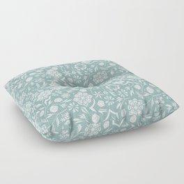 Frozen garden Floor Pillow
