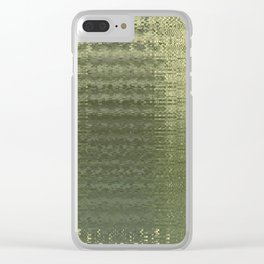 Glytch 04 Clear iPhone Case
