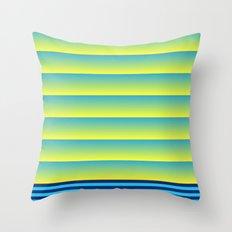Bands Throw Pillow