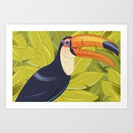 No Toucan-Not Art Print