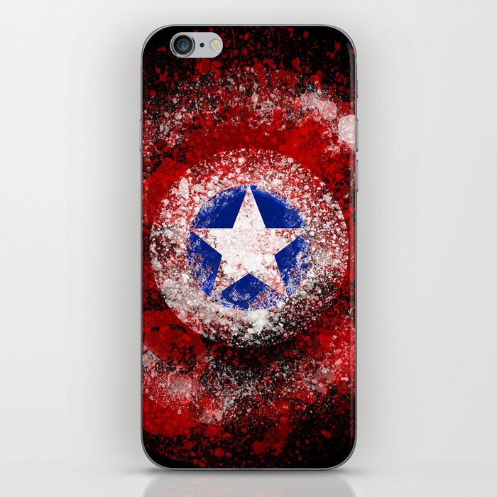Avengers - Captain America iPhone Skin