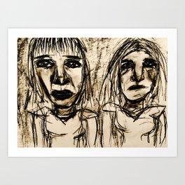 Acetone Us Away. Art Print