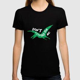 Funny Pterodactyl - Don't Ptread On Me Dinosaur T-shirt