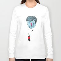 coke Long Sleeve T-shirts featuring Coke Tears by Holy Moli