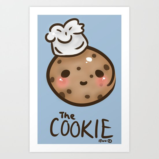 The 'Cook'ie Art Print