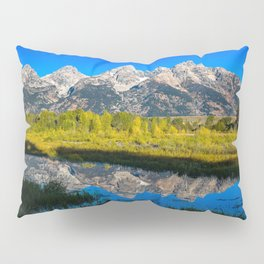 Grand Teton - Reflection at Schwabacher's Landing Pillow Sham