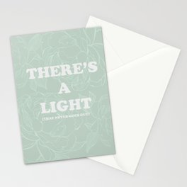 The best of (There's a light that never goes out-the Smiths) Stationery Cards