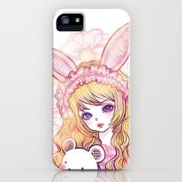 bunbunjii goldhair *GirlsCollection* iPhone Case