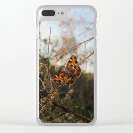 Brooker Creek Butterfly Clear iPhone Case