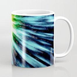 Abstract Dark Tie Dye Coffee Mug
