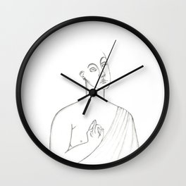 Minimal Coltural Wall Clock