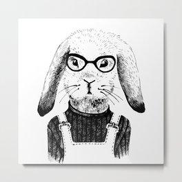 Bunny Life Metal Print