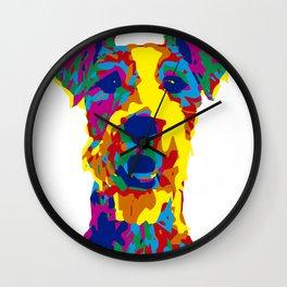 My little dog Wall Clock