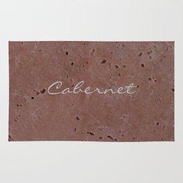 Cabernet Wine Red Travertine - Rustic - Rustic Glam Rug