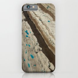 ALASKA III: Ruth Glacier Textures iPhone Case