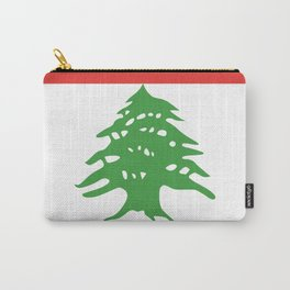 Lebanon flag emblem Carry-All Pouch