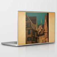 jazzberry Laptop & iPad Skins featuring Evening by Megs stuff