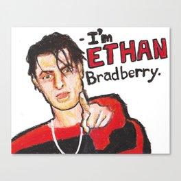I'M ETHAN BRADBERRY H3H3 meme in oil pastel Canvas Print