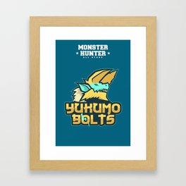 Monster Hunter All Stars - The Yukumo Bolts Framed Art Print